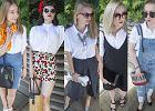 Biała koszula w 5 różnych stylizacjach