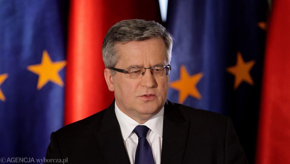 Prezydent Bronisław Komorowski podpisał ustawę upoważniającą go do podpisania krytykowanej przez Kościół konwencji antyprzemocowej.