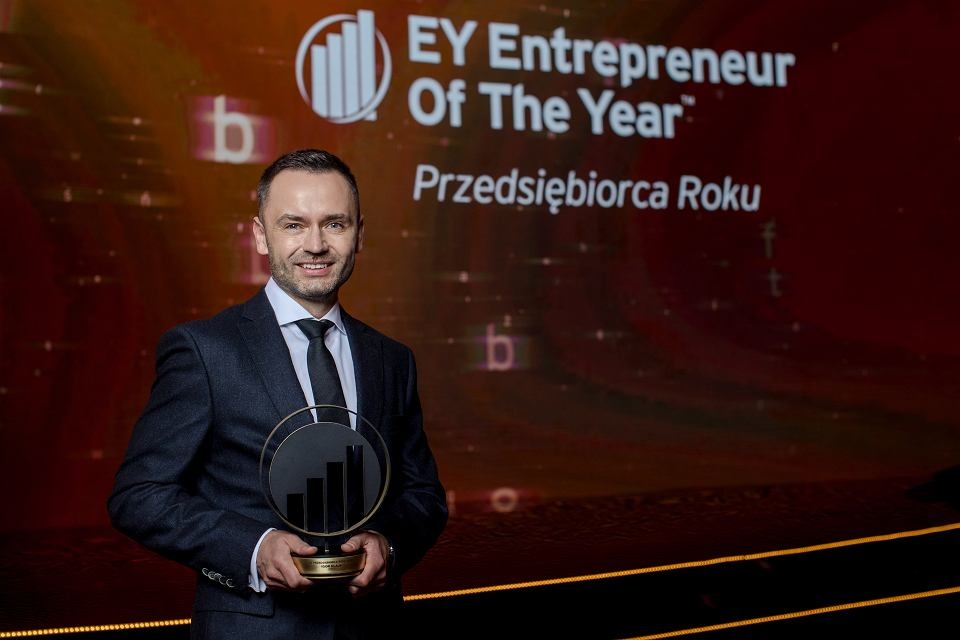 Igor  Klaja, EY Przedsiebiorca Roku 2020 04.03.2021