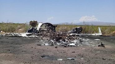 Katastrofa bombardiera w Meksyku