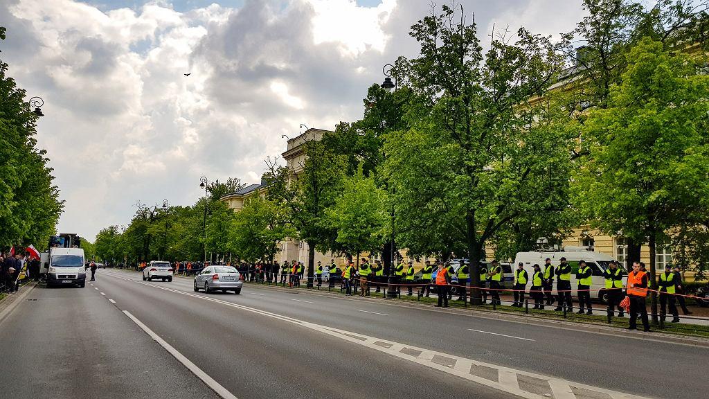 Demonstracja 'Stop 447'