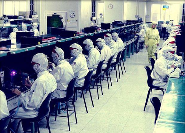 Fabryka Foxconn w Shenzhen w Chinach