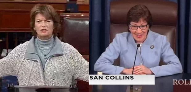 Sen. Murkowski i Collins