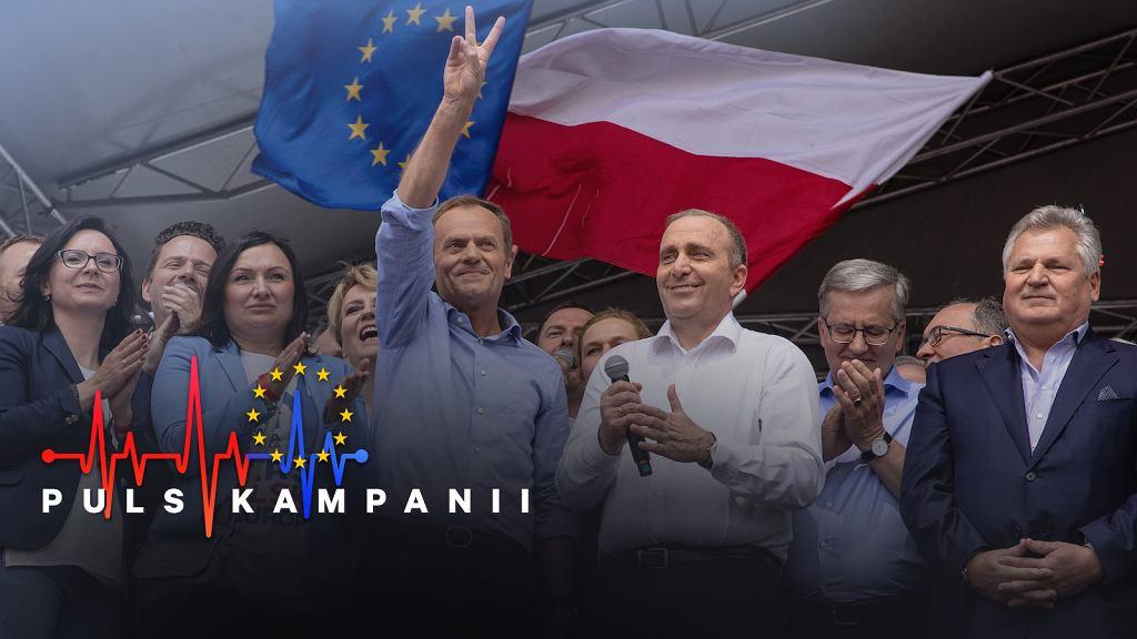 Koalicja Europejska zyskuje minimalną przewagę nad Zjednoczoną Prawicą na ostatniej prostej kampanii