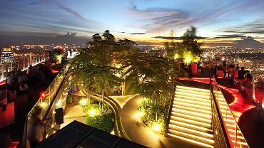 Singapur, restauracja 1 Altitude