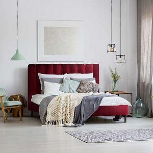 Łóżko Magnolia zwraca uwagę niecodziennym wyglądem i kolorystyką