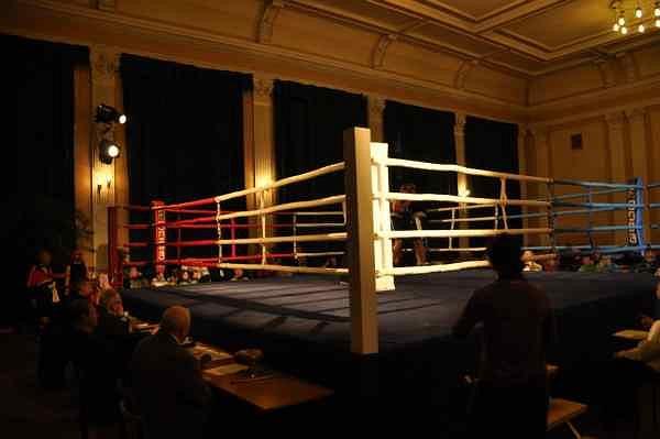 Turniej bokserski w Łodzi w UKS Włókiennik