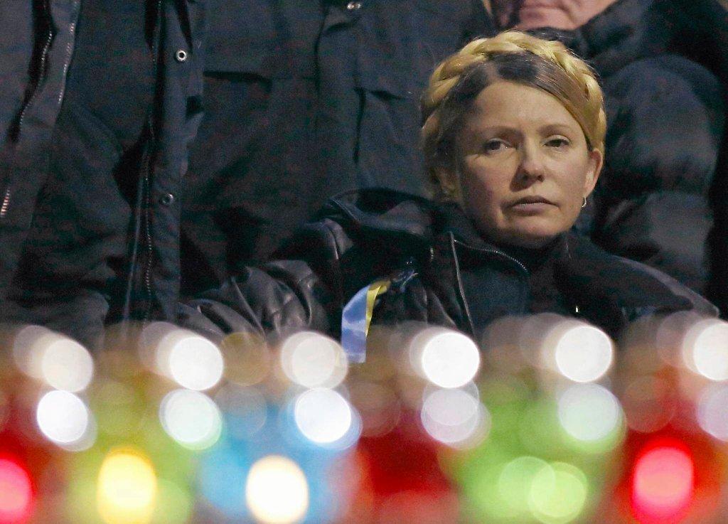 Julia Tymoszenko na Majdanie