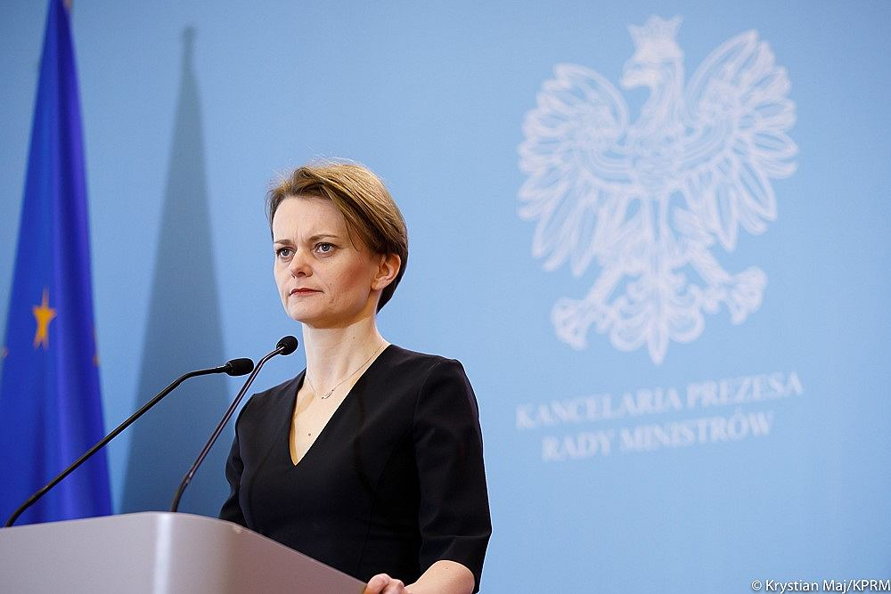 Wicepremierka i ministra rozwoju Jadwiga Emilewicz