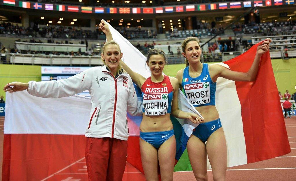 Kamila Lićwinko, Maria Kuczina i Alessia Trost