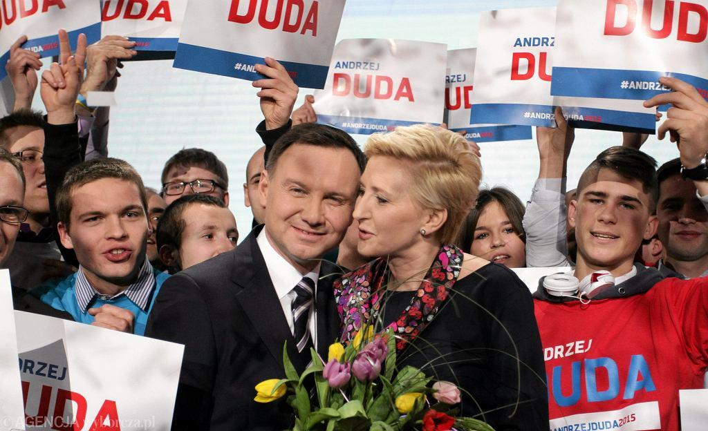 Natalia Niemen na konwencji Andrzeja Dudy