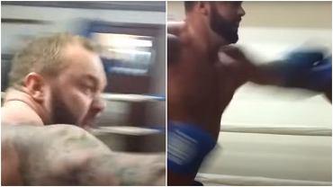 'Góra' z 'Gry o Tron' podczas pojedynku bokserskiego
