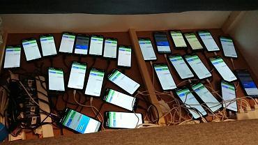 Policja zatrzymała cyberprzestępców wysyłających fałszywe SMS-y