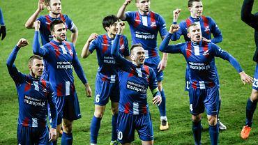 Piłkarze Podbeskidzia Bielsko-Biała mają powody do radości
