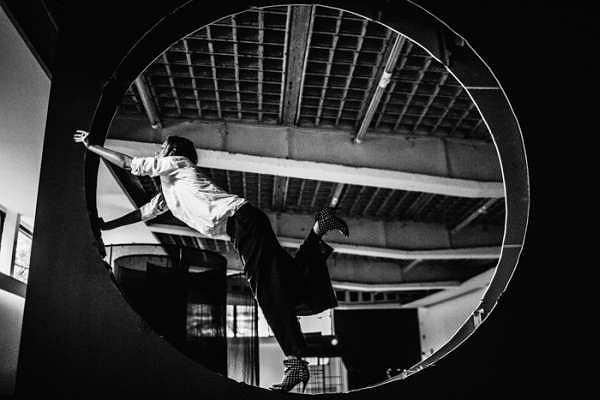 Anna Zaradny, widok wystawy RONDO ZNACZY KOŁO, 2016, Galeria Sztuki Współczesnej Bunkier Sztuki w Krakowie / Fot. Grzegorz Mart / Studio FilmLove