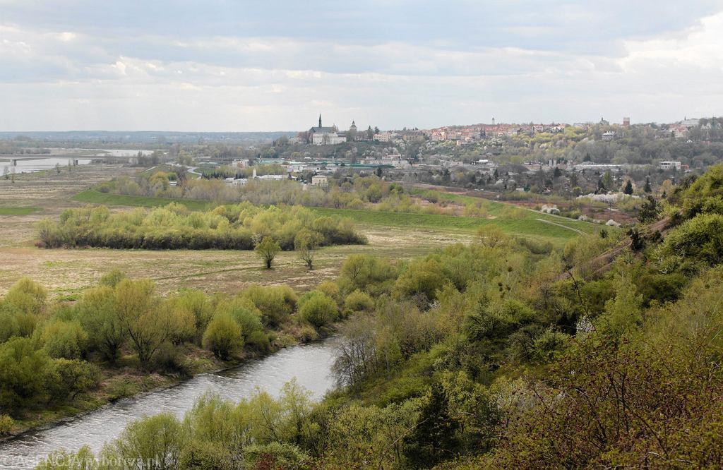 Góry Pieprzowe. Widok na Sandomierz