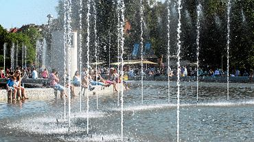 Upał w Warszawie (zdjęcie ilustracyjne)