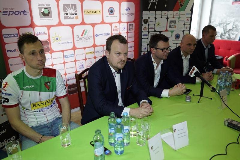 Konferencja prasowa poprzedzająca rozpoczęcie rundy wiosennej I ligi sezonu 2015/2016