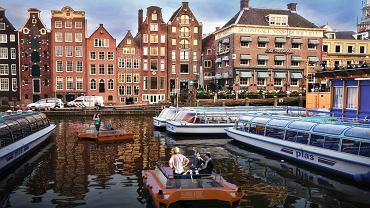 Zautomatyzowane łódki Roboat miałyby pojawić się w Amsterdamie w ciągu pięciu lat