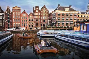 W Amsterdamie mają 100 km kanałów. Już niedługo popływasz po nich bezzałogowymi łódkami