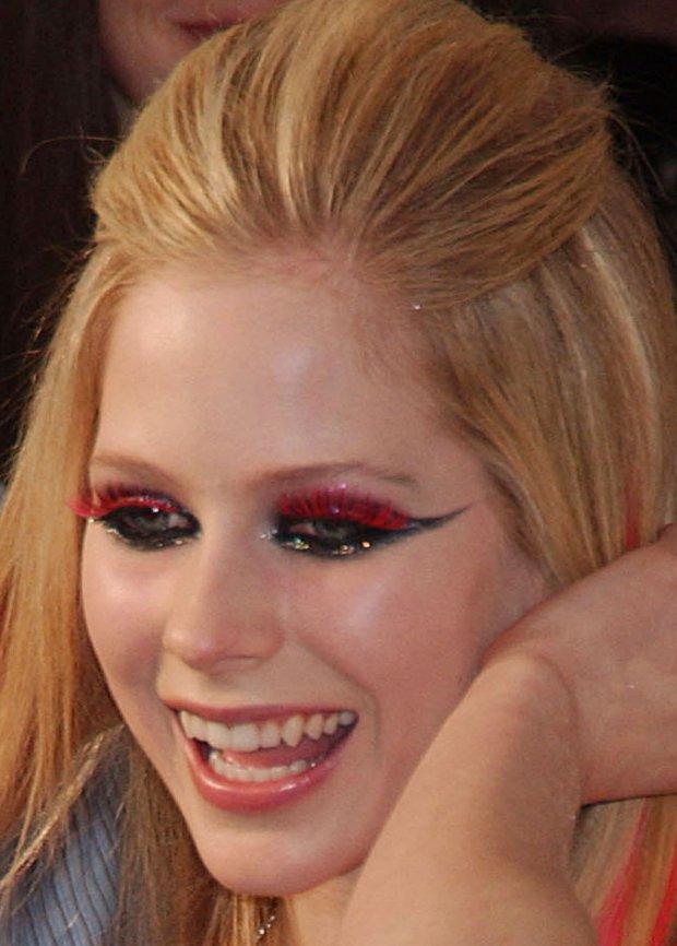 Avril Lavigne na imprezie promującej jej album w 2007 roku w Nowym Jorku