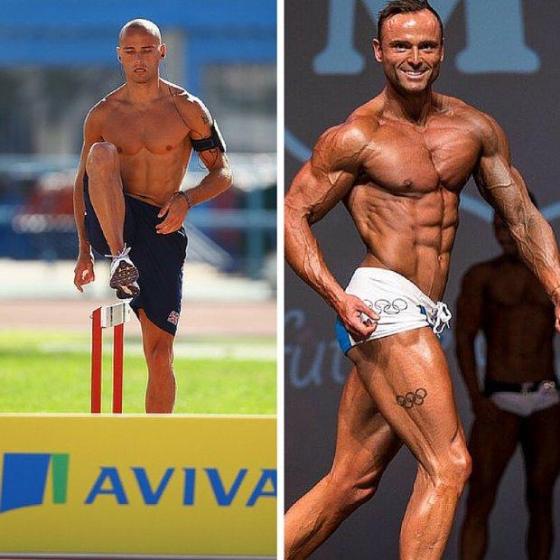 Andy Turner przed i po metamorfozie