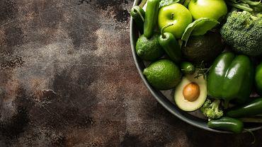 Zielona sałatka z porem