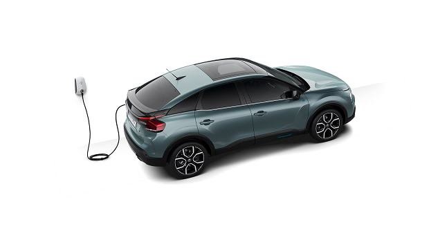 Citroen e-C4 electric 2020
