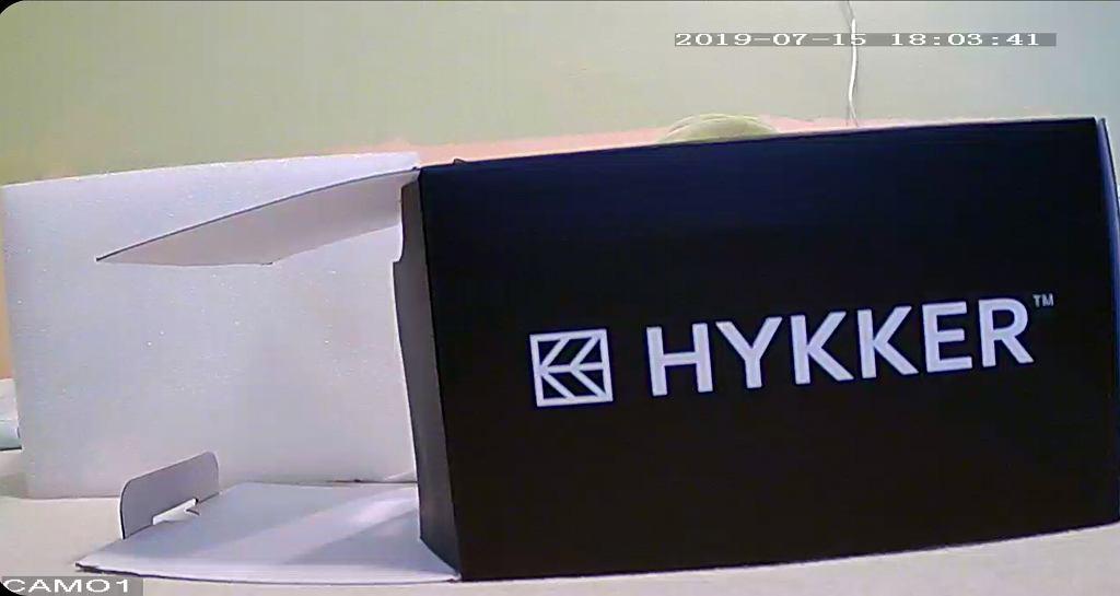 Screen z aplikacji Hykker