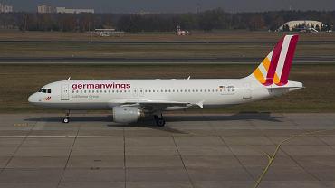 Airbus A320 w barwach Germanwings