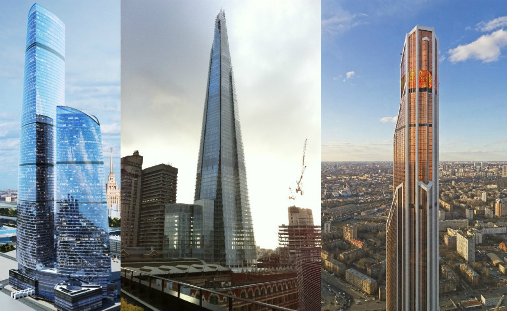 Federation Tower/The Shard/Mercury City Tower