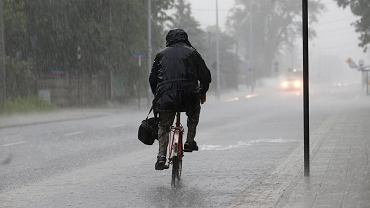 Czerwcowa burza w Łodzi