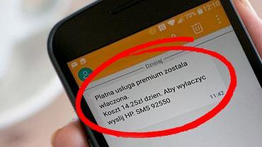 Oszustwo SMS. Nie odpisujcie na te wiadomości!