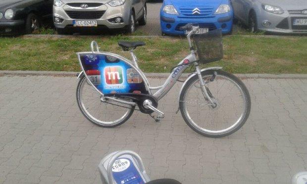 Najczęściej wypożyczany rower Veturilo w Warszawie (o numerze bocznym: 63358)
