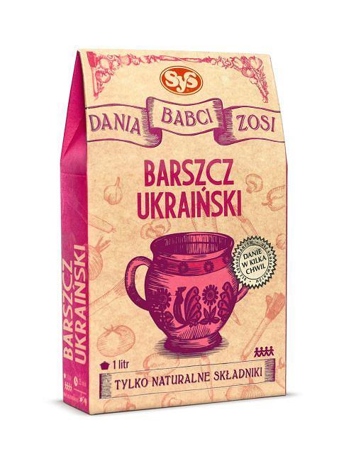 Dania Babci Zosi - barszcz ukraiński
