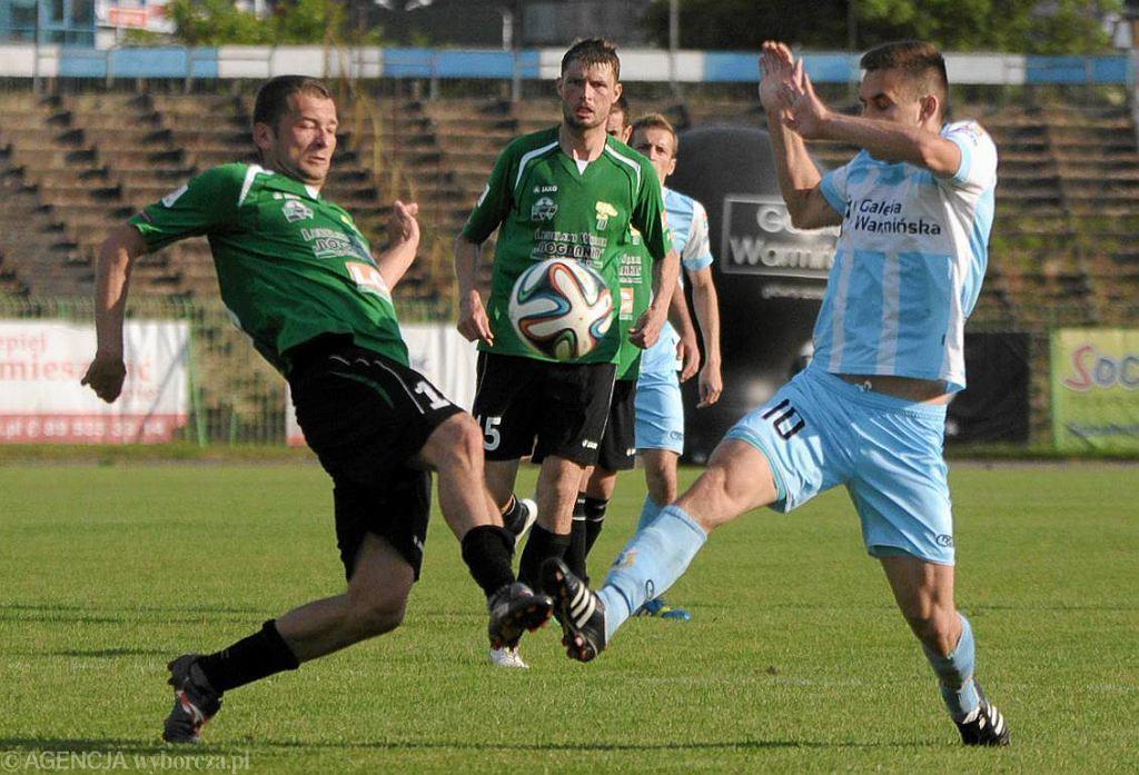W sobotę olsztynianie pokonali u siebie Górnika Łęczna 1:0, ale to okazało się za mało by utrzymać zespół na zapleczu ekstraklasy. Klub spada do drugiej ligi.