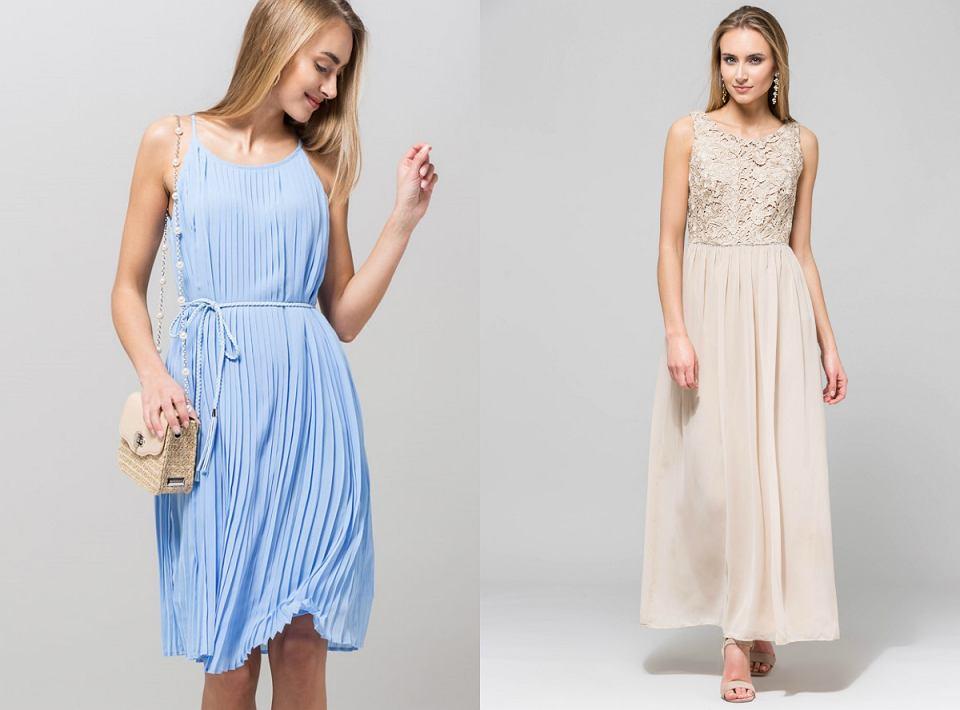 Sukienki na wyjątkową okazję. Ta plisowana to hit!