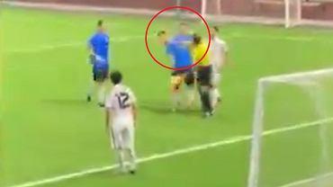Sędzia uderzył zawodnika podczas sparingu w Rosji