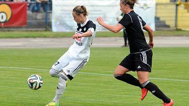 Medyk Konin - Glasgow City FC 2:0. Ewa Pajor strzela gola na 1:0