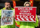 Pracownicy Tesco po rozmowach z zarządem o podwyżkach: Myślimy o radykalizacji protestu