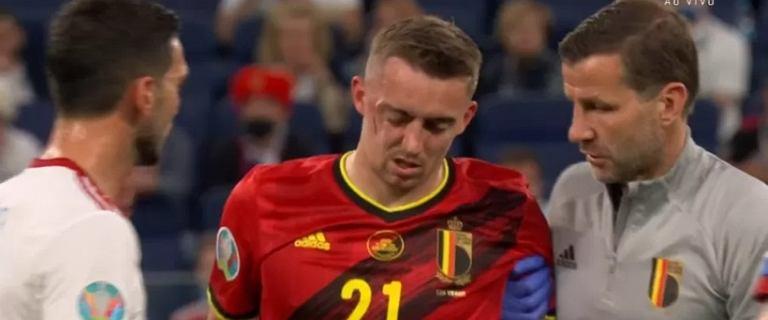 """""""Mam do przekazania naprawdę złe wieści"""". To koniec Euro 2020 dla Belga"""