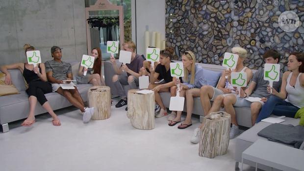 Kadr z programu 'Top Model'