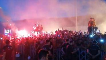 Radamel Falcao witany przez kibiców Galatasaray