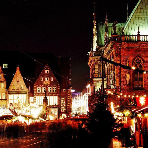 Jarmark bożonarodzeniowy w Bremie