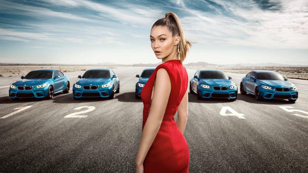 BMW M2 i Gigi Hadid