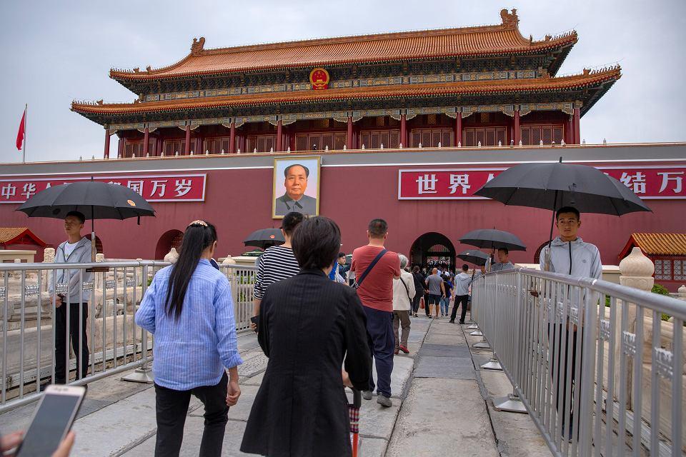 Przygotowania do 70. rocznicy powstania Chińskiej Republiki Ludowej, Pekin 10.09.2019