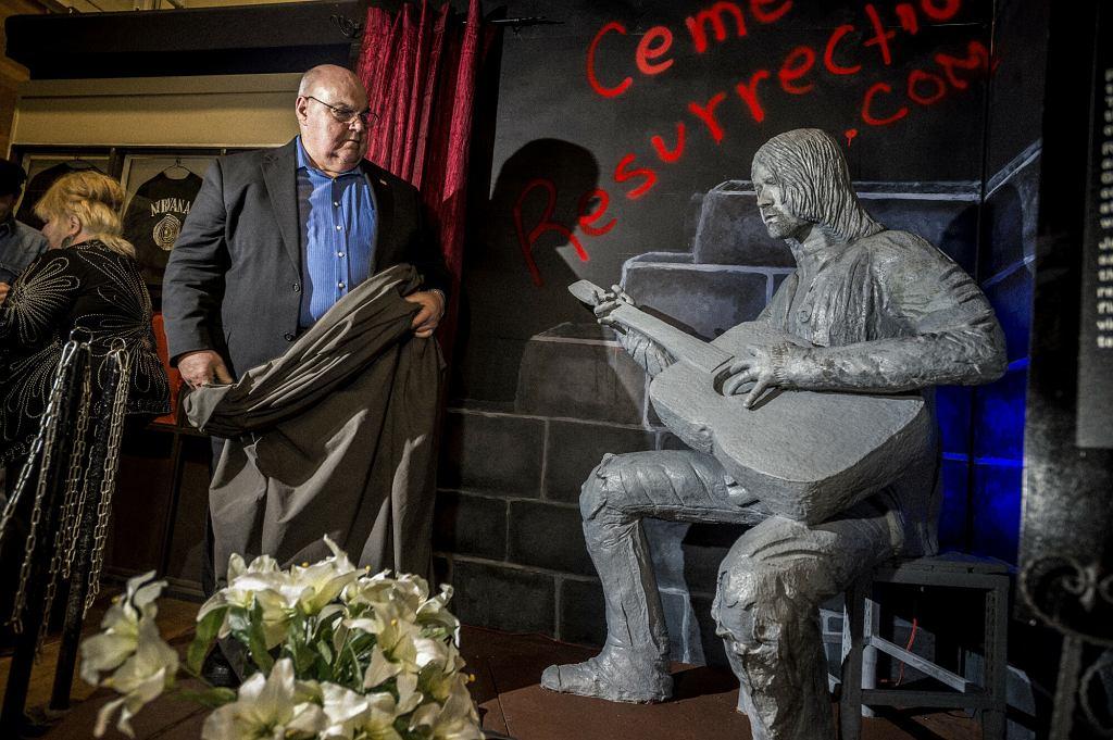 Kurt Cobain pomnik