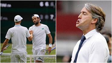 Włosi świętują awans Berettiniego do finału Wimbledonu