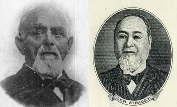 Jacob Davis i Levi Strauss