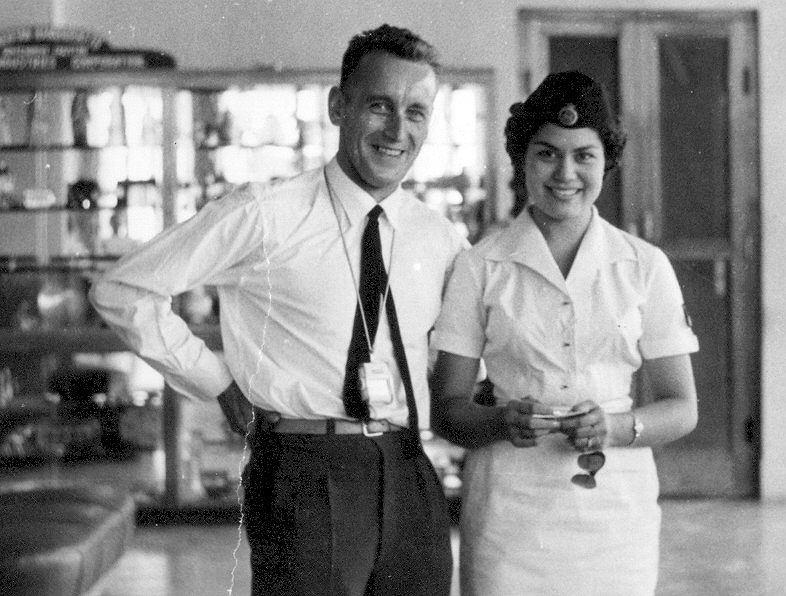 Ryszard Witkowski w drodze do Indonezji, 1960 (archiwum prywatne Ryszarda Witkowskiego)